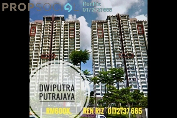 For Sale Condominium at Dwiputra Residences, Putrajaya Freehold Fully Furnished 4R/3B 600k