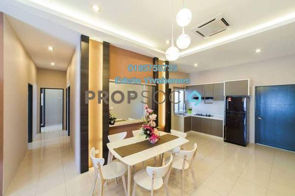 For Sale Apartment at Medan Klebang Restu, Chemor Freehold Unfurnished 3R/2B 158k