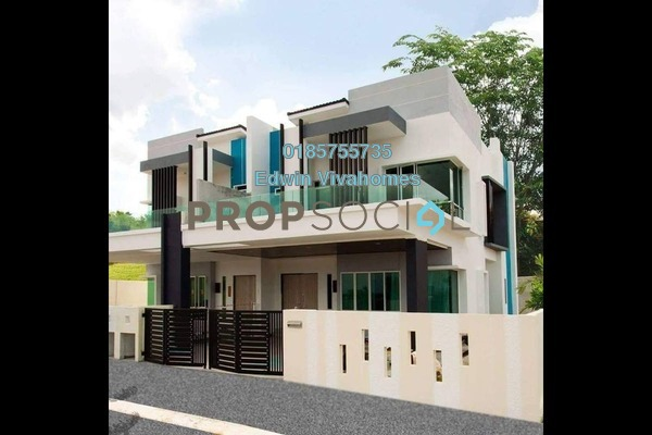For Sale Semi-Detached at Taman Silibin Ria, Ipoh Freehold Unfurnished 4R/5B 599k