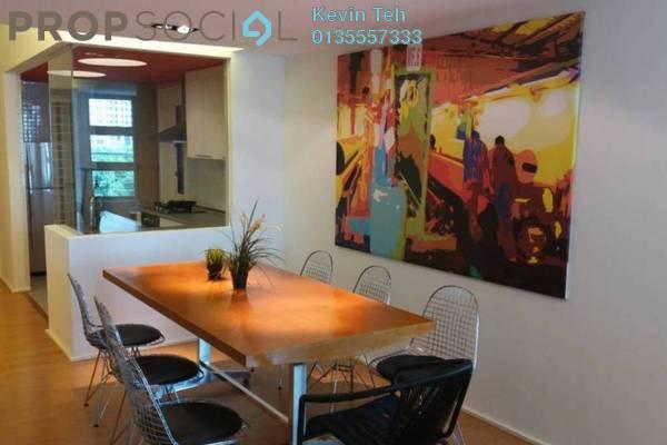 For Rent Condominium at i-Zen Kiara I, Mont Kiara Freehold Fully Furnished 1R/2B 3.5k
