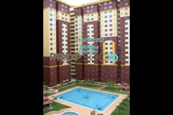 For Sale Apartment at Mentari Court 1, Bandar Sunway Leasehold Unfurnished 3R/2B 260k