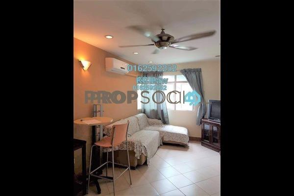 For Rent Condominium at Perdana Exclusive, Damansara Perdana Freehold Fully Furnished 2R/1B 1.4k