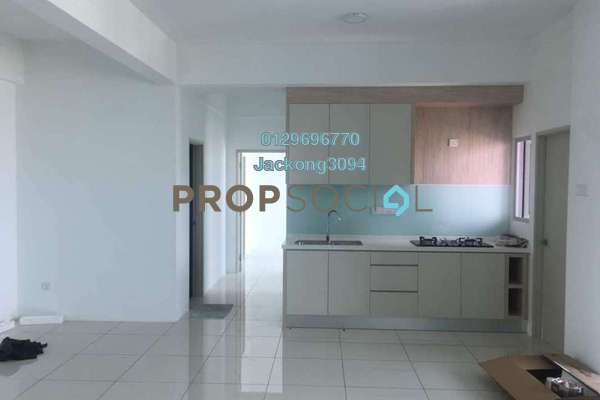 For Rent Condominium at City Residence, Tanjung Tokong Freehold Semi Furnished 3R/3B 2.6k