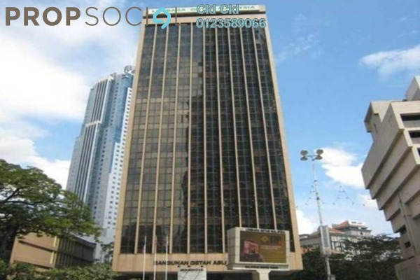 For Rent Office at Bangunan Getah Asli, KLCC Freehold Semi Furnished 0R/0B 15k