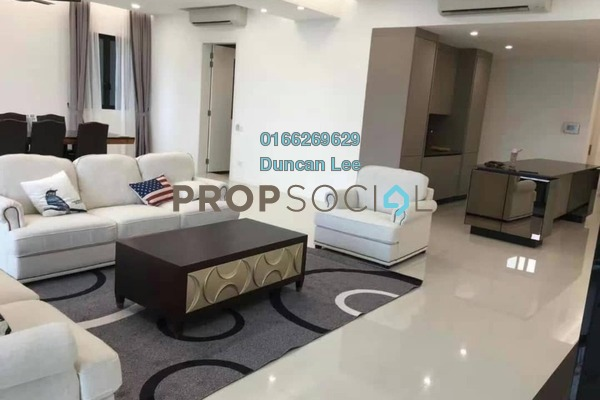 For Rent Condominium at Residensi 22, Mont Kiara Freehold Fully Furnished 5R/5B 11k