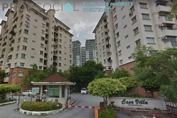 For Sale Condominium at Casa Villa, Kajang Freehold Semi Furnished 3R/2B 385k