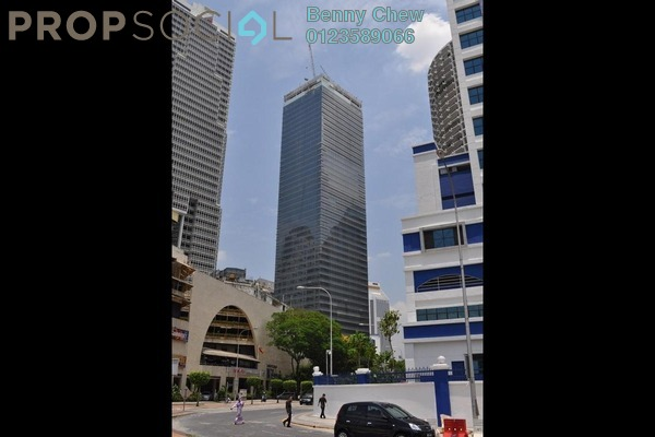 For Rent Office at CapSquare Tower, Dang Wangi Freehold Semi Furnished 0R/0B 65k