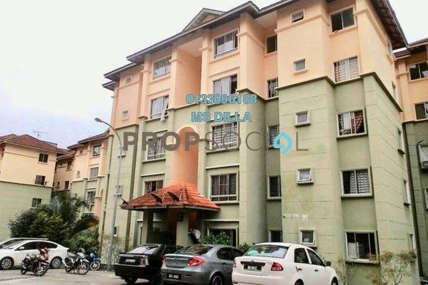 For Sale Apartment at Astana Alam Apartment, Kuala Selangor Leasehold Unfurnished 3R/2B 155k