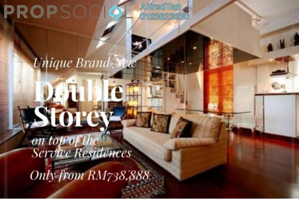 For Sale Duplex at MH Platinum Residency, Setapak Freehold Unfurnished 4R/4B 739k