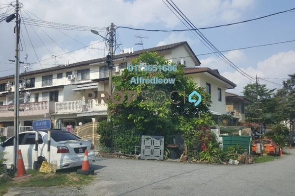 For Rent Terrace at Taman Sri Sinar, Segambut Freehold Semi Furnished 3R/2B 1.1k