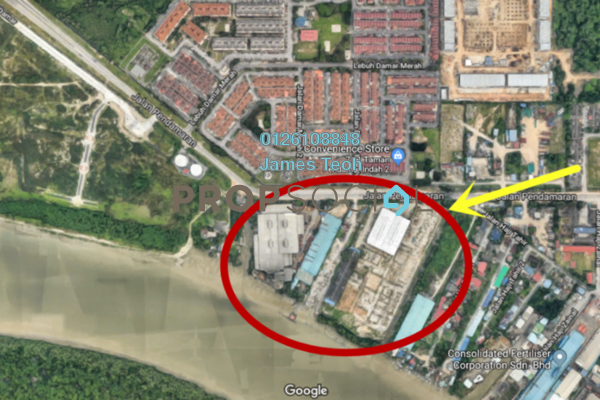 For Sale Land at Taman Pendamar Indah 2, Port Klang Freehold Unfurnished 0R/0B 32.4m