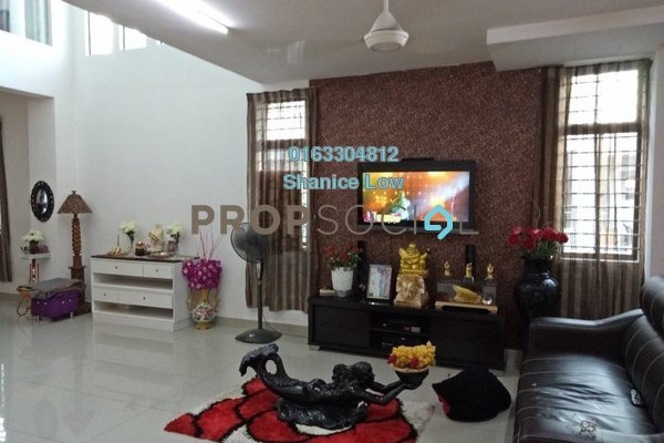 For Sale Terrace at Lakeside Residences, Puchong Freehold Semi Furnished 5R/4B 900k
