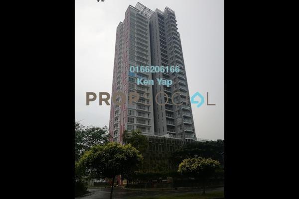 For Sale Condominium at Duet Residence, Bandar Kinrara Freehold Unfurnished 4R/3B 680k