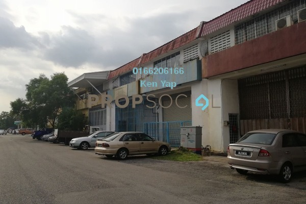 For Sale Factory at Puchong Utama Industrial Park, Bandar Puchong Utama Leasehold Unfurnished 0R/4B 1.2m
