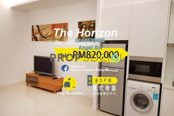 For Sale Condominium at The Horizon Residences, KLCC Freehold Fully Furnished 1R/1B 820k