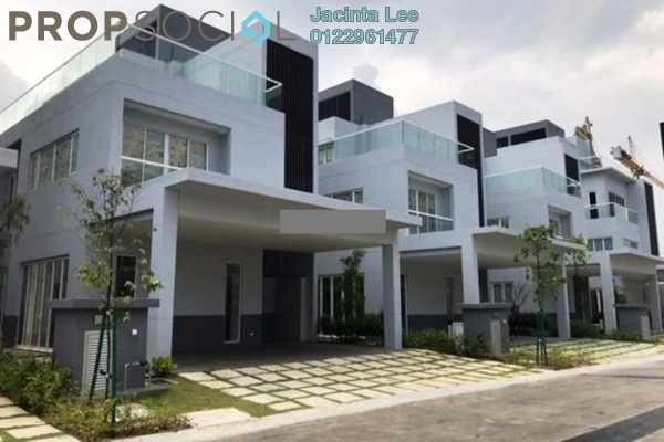 For Sale Bungalow at LakeFront Villa, Cyberjaya Freehold Semi Furnished 5R/4B 1.62m