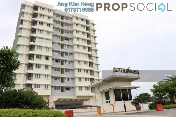 For Sale Condominium at Sutera Maya, Old Klang Road Freehold Semi Furnished 4R/2B 570k