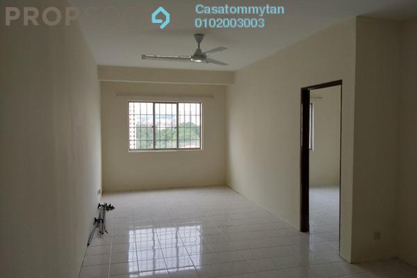 For Rent Apartment at Cemara Apartment, Bandar Sri Permaisuri Freehold Unfurnished 3R/2B 1.1k