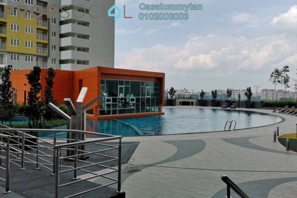 For Rent Condominium at The Holmes, Bandar Tun Razak Freehold Unfurnished 3R/2B 1.4k