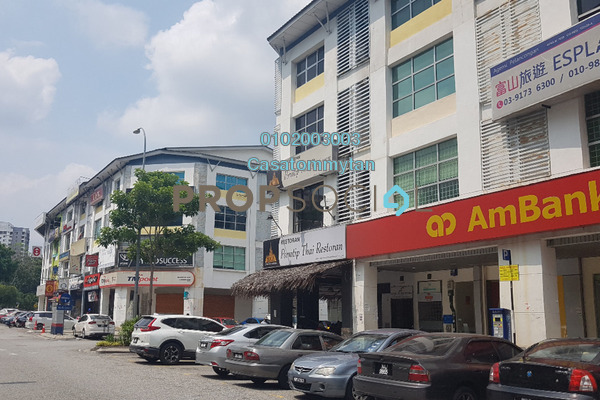 For Rent Shop at Dataran Dwitasik, Bandar Sri Permaisuri Freehold Unfurnished 0R/0B 3k