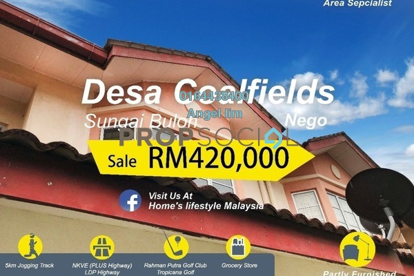 For Sale Terrace at Desa Coalfields, Sungai Buloh Freehold Unfurnished 4R/4B 420k