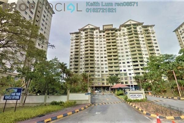 For Sale Condominium at Anjung Hijau, Bukit Jalil Freehold Semi Furnished 4R/2B 1.1m
