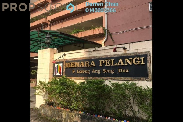 For Sale Condominium at Menara Pelangi, Brickfields Freehold Semi Furnished 3R/2B 645k