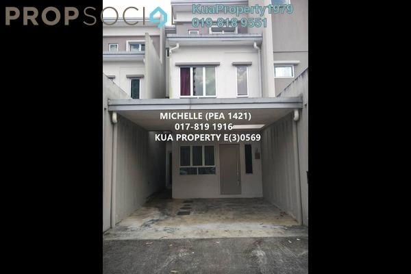 For Rent Townhouse at Academia Lane, Kota Samarahan Freehold Unfurnished 4R/3B 1.5k