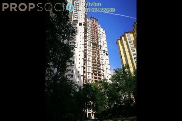 For Sale Condominium at Seri Maya, Setiawangsa Freehold Semi Furnished 3R/2B 650k