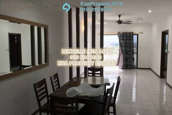 For Rent Apartment at Chonglin Plaza, Kuching Freehold Fully Furnished 3R/2B 1.5k