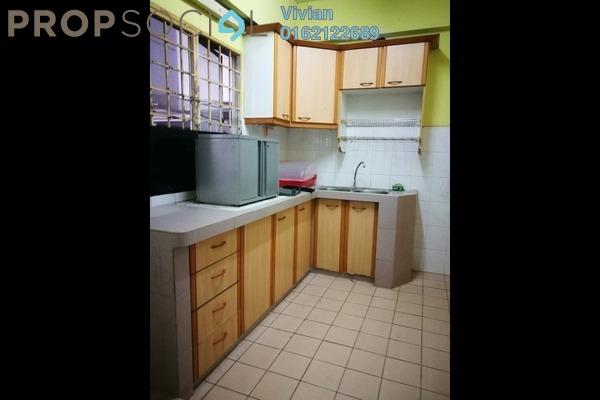 For Sale Condominium at Endah Ria, Sri Petaling Freehold Semi Furnished 3R/2B 398k