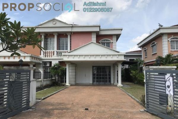 For Sale Semi-Detached at Bukit Bandaraya, Shah Alam Freehold Semi Furnished 4R/3B 845k
