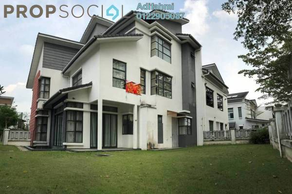For Sale Semi-Detached at Mezzo, Bukit Jelutong Freehold Semi Furnished 7R/8B 2.7m