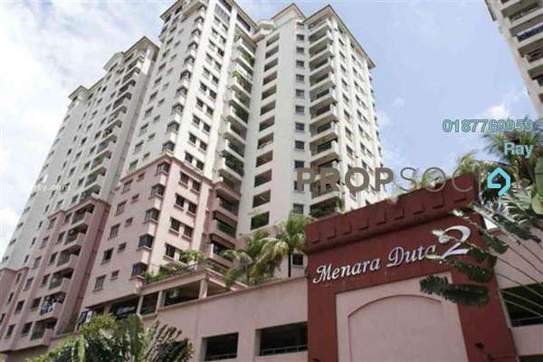 For Rent Condominium at Menara Duta 2, Dutamas Freehold Fully Furnished 4R/3B 1.8k