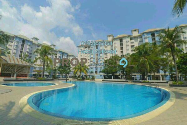 For Sale Apartment at Tasik Heights Apartment, Bandar Tasik Selatan Freehold Semi Furnished 3R/2B 340k