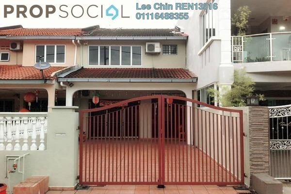For Sale Terrace at Taman Suria Jaya, Cheras South Freehold Semi Furnished 4R/3B 568k