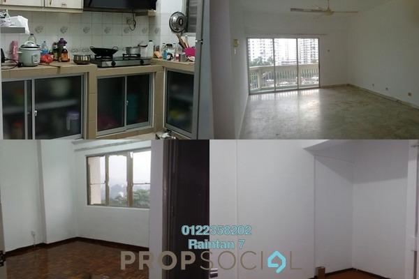 For Rent Condominium at Petaling Indah, Sungai Besi Freehold Semi Furnished 3R/2B 1.15k