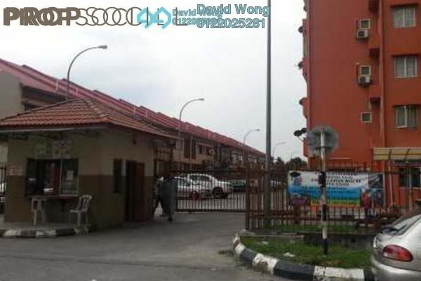 For Rent Apartment at Sri Dahlia Apartment, Kajang Freehold Semi Furnished 3R/2B 1k