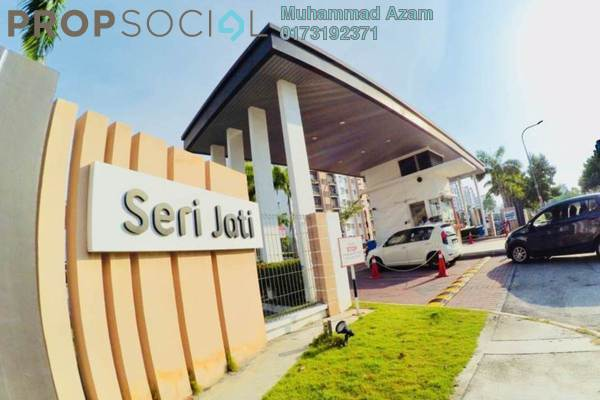 For Sale Apartment at Seri Jati Apartment, Setia Alam Freehold Unfurnished 3R/2B 335k