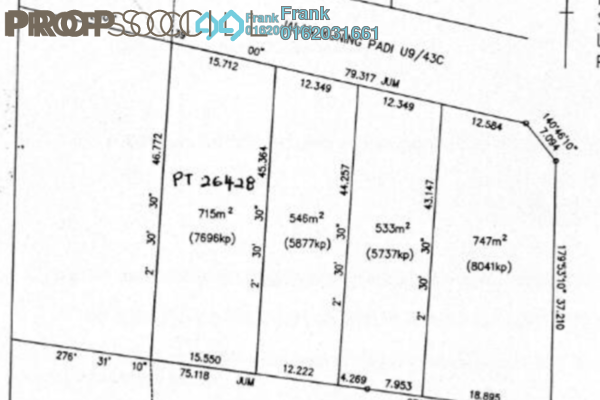 For Sale Land at Monterez, Shah Alam Freehold Unfurnished 0R/0B 2.74m