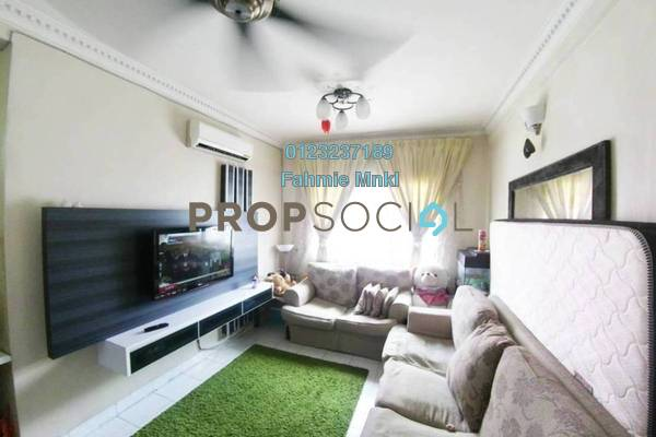 For Sale Apartment at Salvia Apartment, Kota Damansara Leasehold Semi Furnished 3R/2B 345k