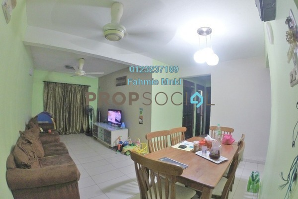 For Sale Apartment at Pantai Indah Apartment, Pantai Freehold Semi Furnished 3R/2B 345k