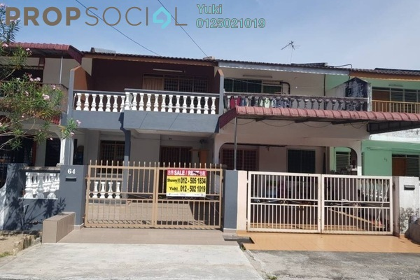 For Sale Terrace at Taman Lapangan Ria, Ipoh Freehold Unfurnished 3R/2B 158k
