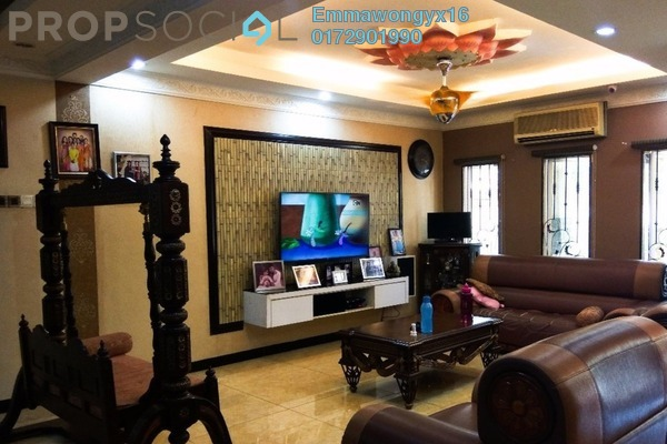 For Sale Terrace at Taman Wahyu, Jalan Ipoh Freehold Semi Furnished 5R/3B 1.63m