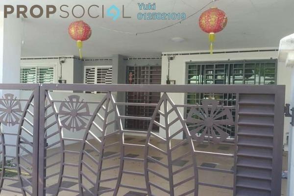 For Sale Terrace at Taman Pengkalan Barat, Ipoh Leasehold Semi Furnished 4R/4B 378k