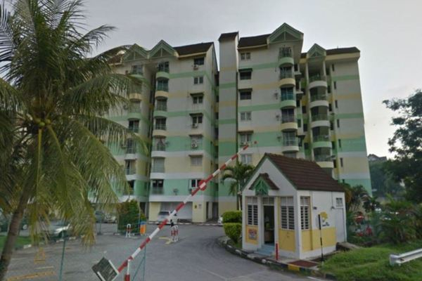 For Sale Apartment at Mutiara Ria, Bukit Gambier Freehold Fully Furnished 2R/2B 320k