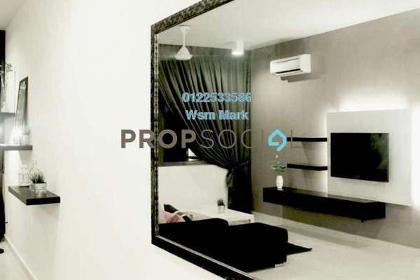 For Rent Condominium at Mirage By The Lake, Cyberjaya Freehold Fully Furnished 2R/3B 1.9k