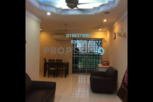 For Rent Condominium at Bayu Puteri, Tropicana Freehold Fully Furnished 3R/2B 1.8k