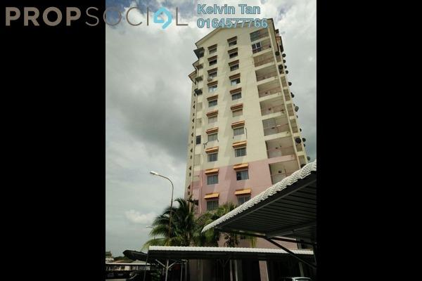 For Rent Condominium at Menara Kuda Lari, Georgetown Freehold Semi Furnished 3R/2B 1k