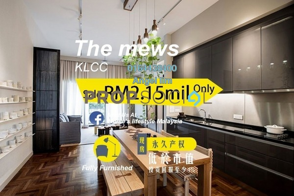 For Sale Condominium at The Mews, KLCC Freehold Fully Furnished 2R/2B 2.15m